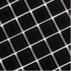 Crystal Glass Mosaic Tile Sheet Wall Stickers Kitchen Backsplash Tile Wholesale Black Floors Design Shower Swimming Tiles  SA061