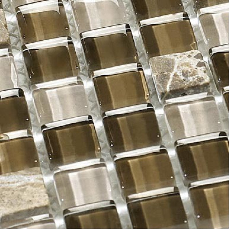 glass tile backsplash stone glass blend mosaic tiles bathroom wall