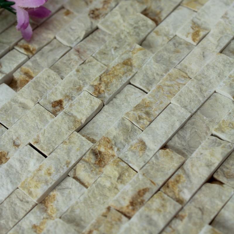 Natural Stone Mosaic Tile Kitchen Backsplash Tiles