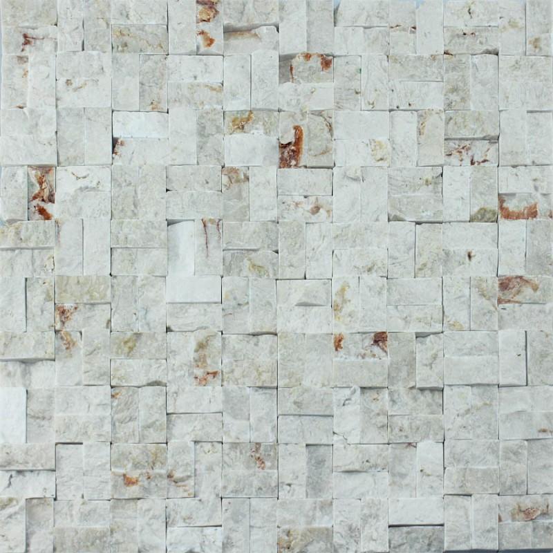 stone mosaic tile sheets kitchen backsplash wall sticker