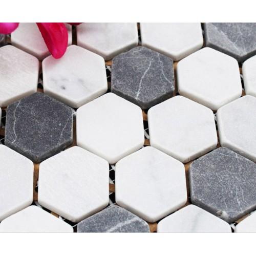 Stone Tiles Mosaic Tile sheet Kitchen Backsplash Wall sticker Mosaic fireplace border Natural Marble Backsplash Tiles SGS08C-1