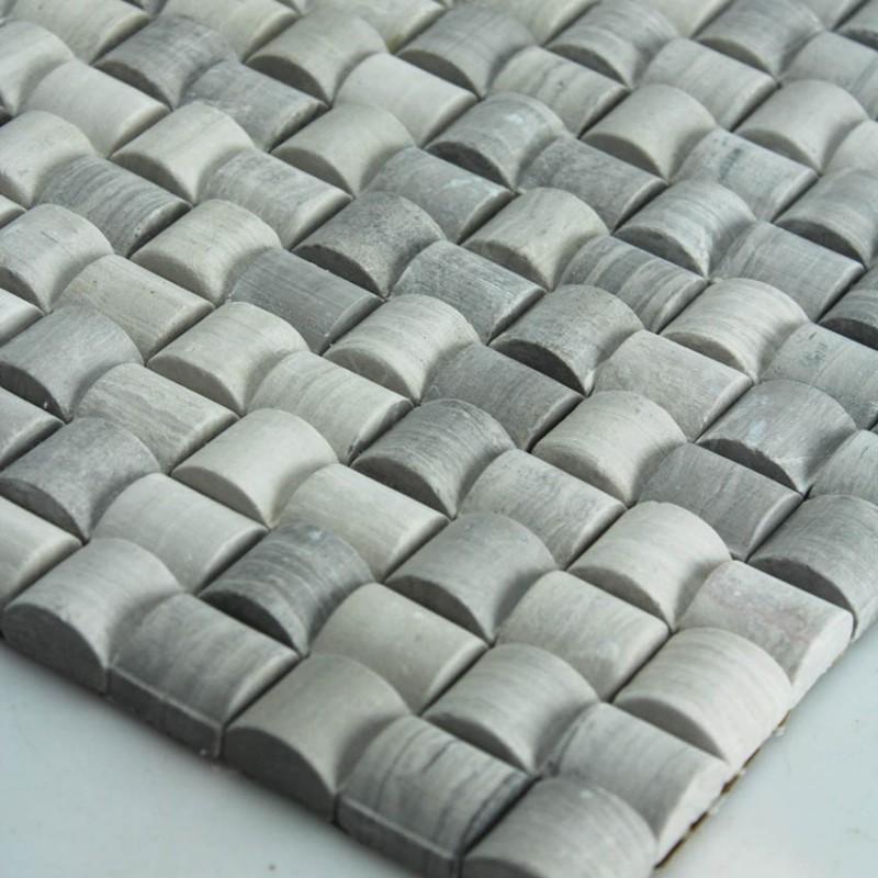Stone Mosaic Tile Sheet Kitchen Backsplash Wall Sticker Mosaic Stone For Fireplace Border Tile Marble Backsplash Tiles