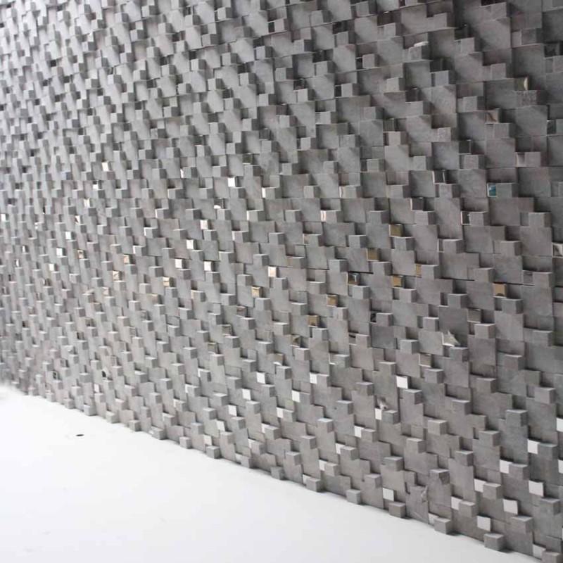 Stone Mosaic Sheets Kitchen Backsplash Wall Sticker