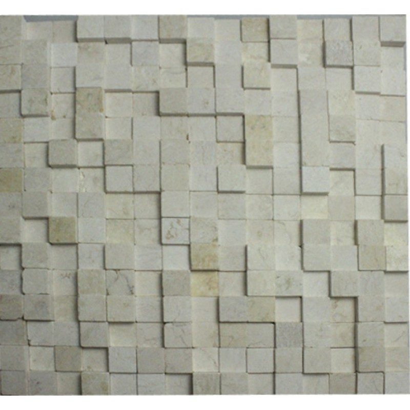 stone mosaic tile sheets kitchen backsplash wall sticker