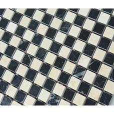 Stone Tiles Mosaic Tile Black Kitchen Backsplash Wall sticker Mosaic fireplace border Natural Marble Backsplash Tiles SGS6673AQP
