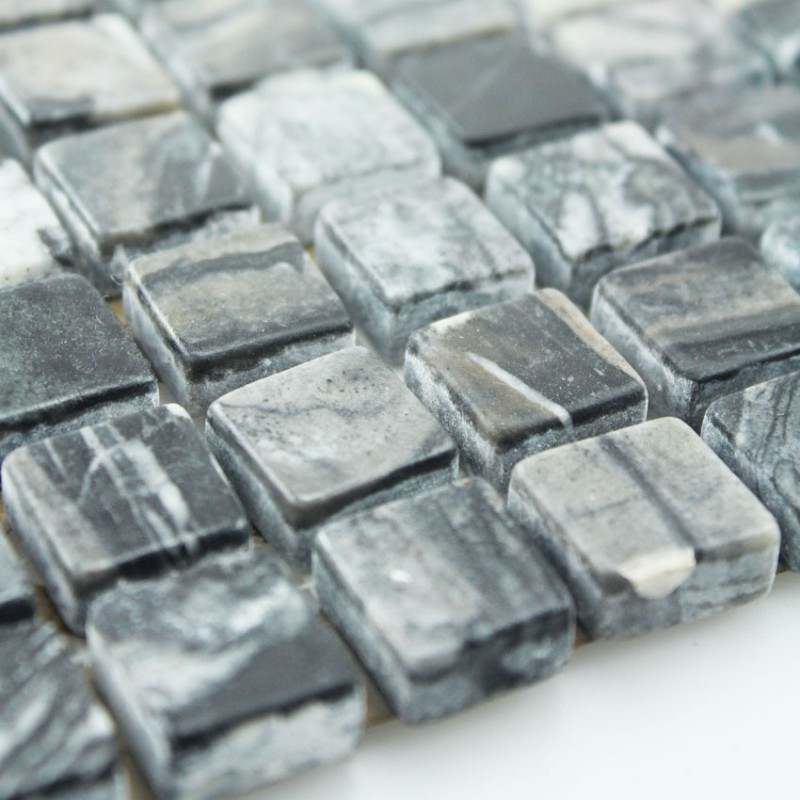 Stone Tile Mosaics Tile Sheets Kitchen Backsplash Wall Sticker Fireplace Border Tile Natural Marble Tile Backsplash Sgsgmw 15b