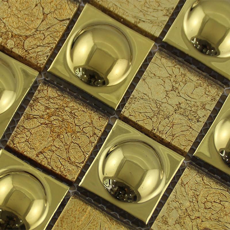 ceramic mosaic sheet gold porcelain tile kitchen Gray Porcelain Tile Kitchen Backsplash Aqua Kitchen Backsplash Color