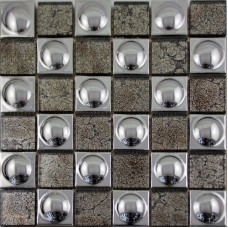 ceramic mosaic sheet Silver porcelain tile kitchen backsplash tiles bathroom mirrored wall PJGJ683 TV background Tiles Bar floor tile designs