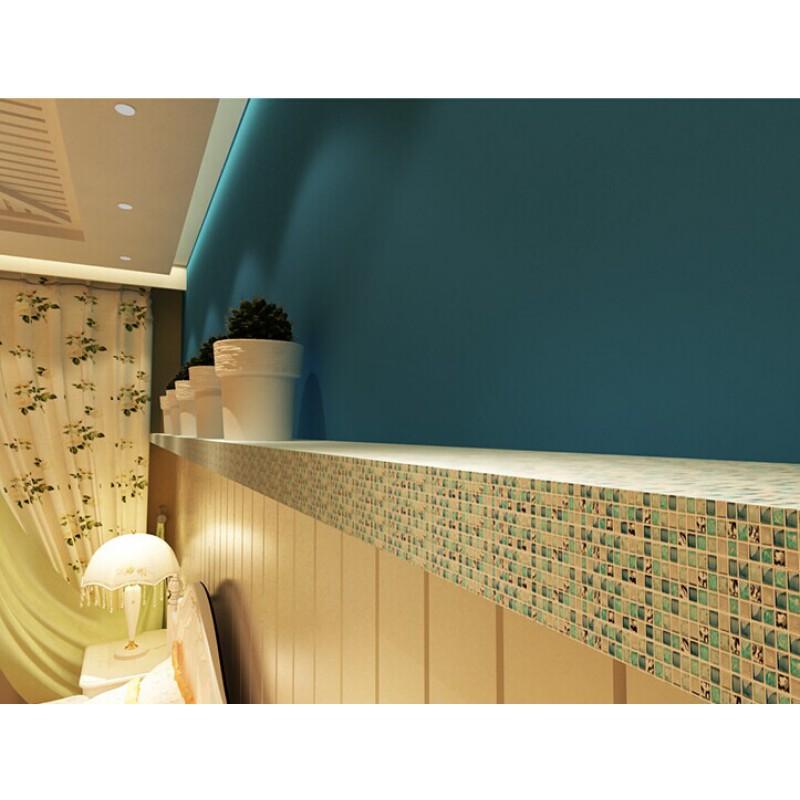 ... Blue ice crack glass tile mosaic sheets beige crackle glass porcelain  backsplash cheap cracked tiles for ...