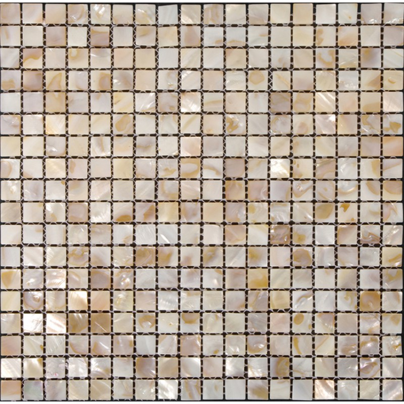 Seashell Tiles For Kitchen Wall Mother Of Pearl Square Mosaic Backsplash In Bathroom Iridescent Shell Sheet