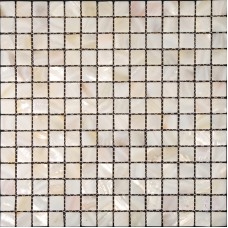 "Mother of pearl tiles for kitchen and bathroom natural shell materials 4/5"" square mosaic backsplash white seashell mosaic wall tile ST003"