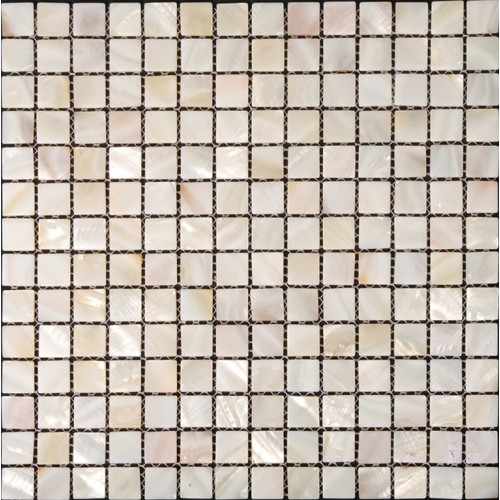"""Mother of pearl tiles for kitchen and bathroom natural shell materials 4/5"""" square mosaic backsplash white seashell mosaic wall tile ST003"""