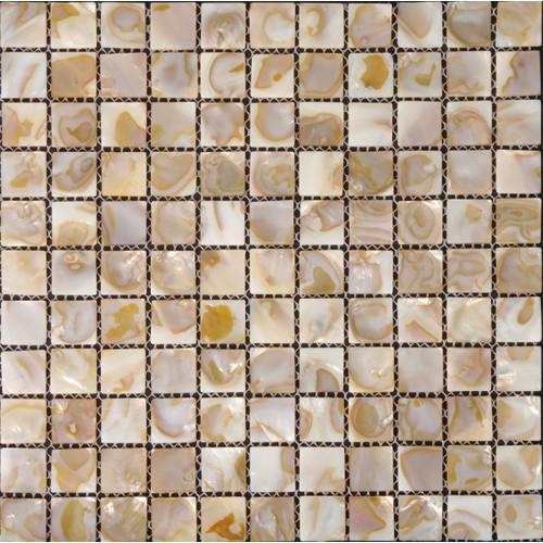 "Mother of pearl tiles for kitchen and bathroom natural shell materials 1"" square mosaic backsplash iridescent seashell mosaic walls ST005"