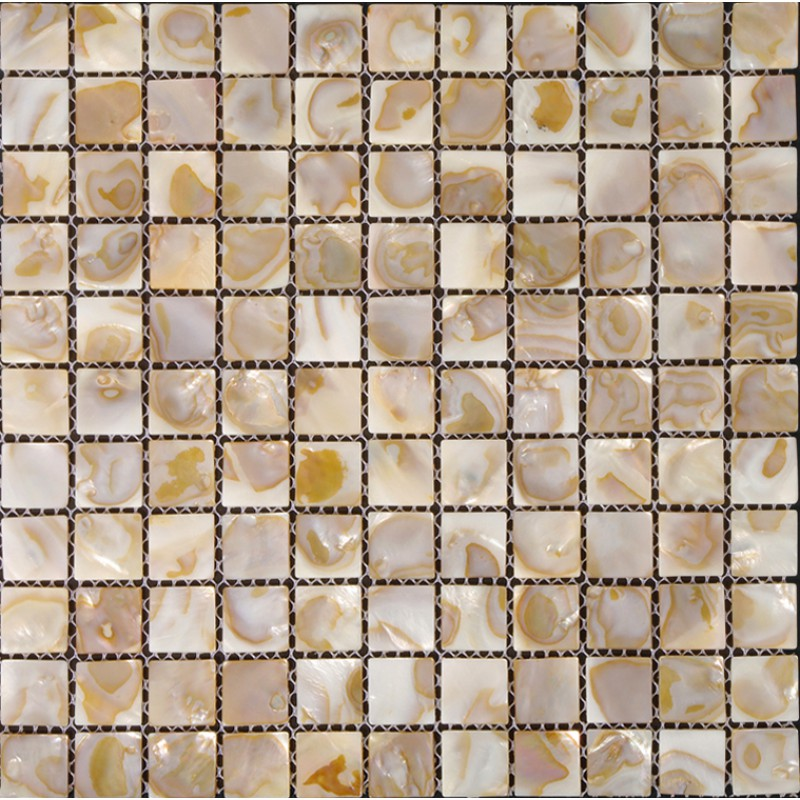 Mother Of Pearl Tiles For Kitchen And Bathroom Natural Shell Materials 1 Square Mosaic Backsplash