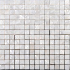 "Mother of pearl square mosaic backsplash white natural shell materials 4/5"" seashell with base wall tiles for kitchen and bathroom ST010"