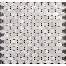 Shell mosaic wall tiles for kitchen backsplash mother of pearl floor tiles ellipse mosaic natural seashell tile bathroom shower designs ST015