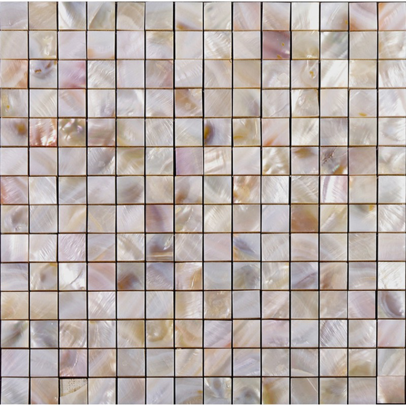 Seashell Tiles Mother Of Pearl Backsplash Square Mosaic Natural Shell With  Base 4/5 Part 89
