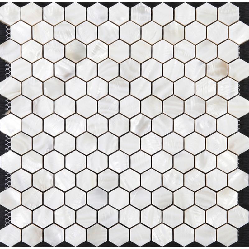 Mother of Pearl Tiles Backsplash Cheap Hexagon Mosaic Bathroom