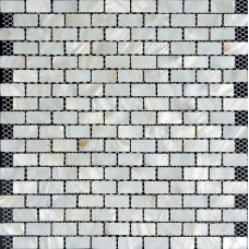 White subway tile backsplash ideas bathroom 3/5x1-1/6 inch mother of pearl tiles for kitchen and bathroom natural shell mosaic ST053