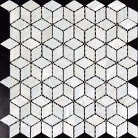 Mother of Pearl Tile Kitchen Backsplash Diamond Shell Mosaic Wall Tiles