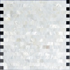 Mother of pearl subway tile backsplash for kitchen and bathroom seamless shell mosaic