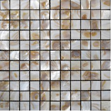 Natural Seashell Mosaic Iridescence Mother of Pearl Tile Backsplash Classic Kitchen Designs Shell Tiles Mirror Wall Decor ST066