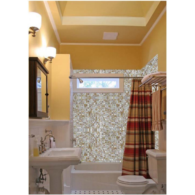 ... Mother of Pearl Shell Tile ST069 sheets Iridescence Seashell Mosaic designs art Kitchen Backsplash Tiles Bathroom