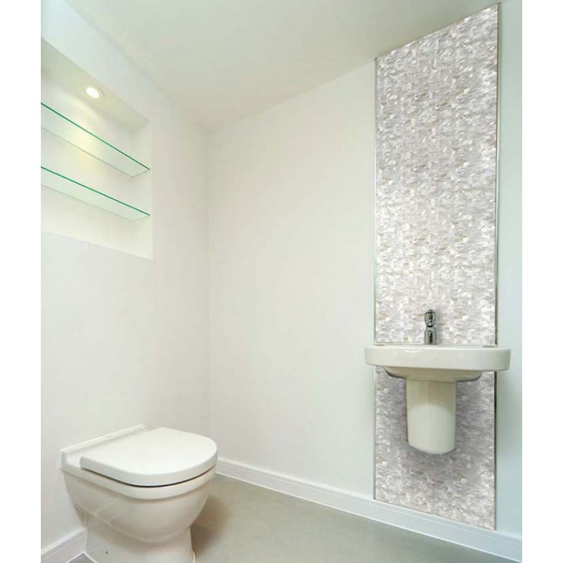 ... Seamless Shell Mosaic With Base White Subway Tile Backsplash Cheap  3/5x1 1/ Part 35