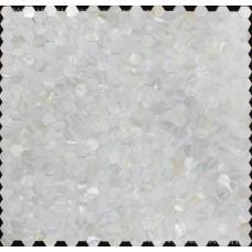 "Mother of pearl tiles for kitchen and bathroom seamless shell pearl tile backsplash ideas 3/5"" white hexagon mosaic bathtub wall decor ST083"