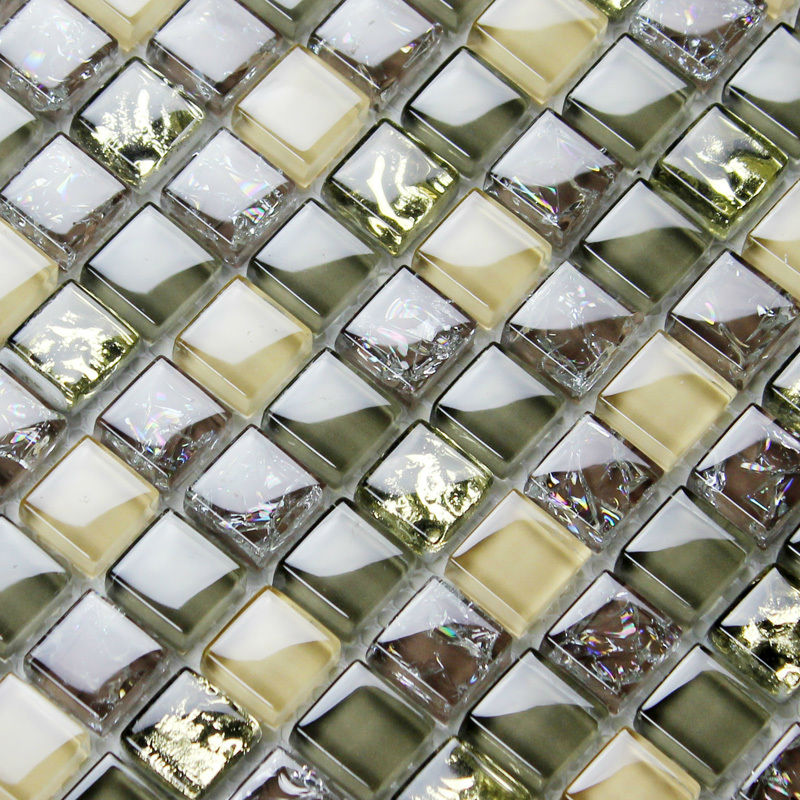 Brown Glass Tile Backsplash Ideas Bathroom Mosaics Ice