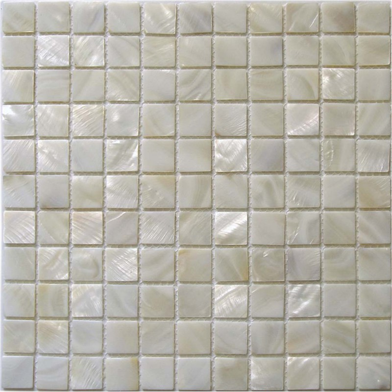 "Seashell Backsplash Tile: Mother Of Pearl Tile 4/5"" Natural Shell Tiles Kitchen"