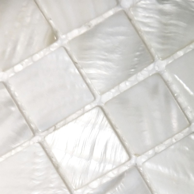 Mother Of Pearl Tile Mosaic Square 1 Inch Freshwater White Shell Tiles Kitchen Backsplash Bathroom Shower
