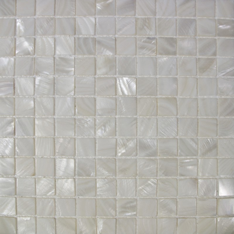 Mother Of Pearl Tile Mosaic Square 1 Inch Freshwater White Shell Tiles Kitchen Backsplash Bathroom Shower