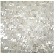 Mother of pearl tile fresh water shell tiles seamless subway wall tiles kitchen backsplash natural seashell mosaic bathroom tiles S15252