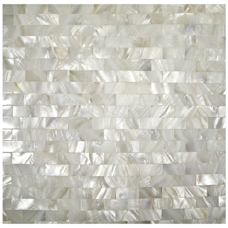 Mother Of Pearl Tile Fresh Water Shell Tiles Seamless Subway Wall Tiles Kitchen Backsplash Natural Seashell Mosaic