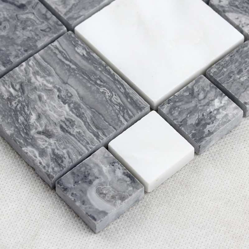 sheet tile for showers. Natural MarbleTiles Sheet Diamond Stone Mosaic Tile Art Wall Stickers  Kitchen Backsplash Design Bathroom Shower Floor Tiles