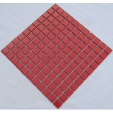 porcelain ceramic wall tile red swimming pool mosaic cover 1 sq ft for each sheet TC-007 kitchen backsplash bathroom tiles