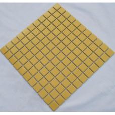 porcelain ceramic wall tile yellow swimming pool mosaic cover 1 sq ft for each sheet TC-008 kitchen backsplash bathroom tiles
