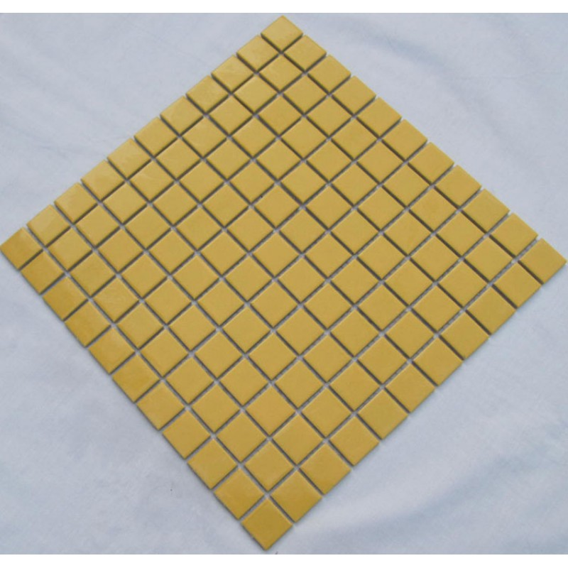 ceramic wall tile yellow swimming pool mosaic cover 1 sq ft for each ...