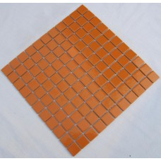 porcelain ceramic mosaic tile orange porcelain wall tiles cover 1 sq ft for each sheet TC-009 kitchen backsplash bathroom tiles
