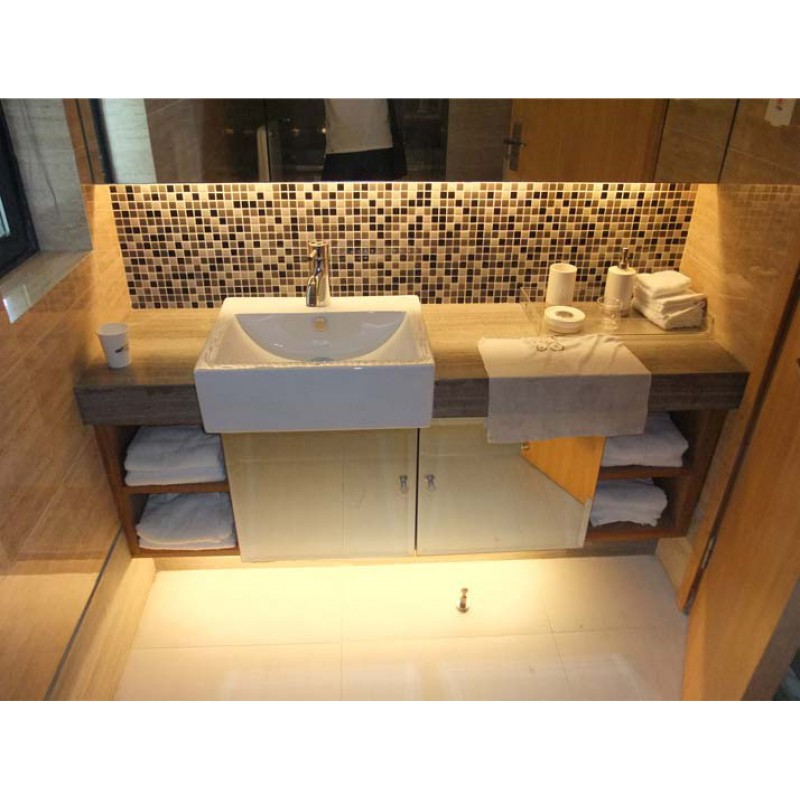 Porcelain Tile Backsplash Glazed Ceramic Tile Stickers Kitchen Porcelain  Mosaic Flooring Designs TC 2507TM Bathroom Wall Tiles