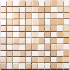 Beige and white porcelain mosaic PCD664 glazed tile swimming pool kitchen tiles backsplash for bathroom walls and floors
