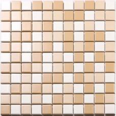 Beige and white porcelain mosaic PCD664 glazed tile swimming pool kitchen tiles backsplash for bathroom walls and floors