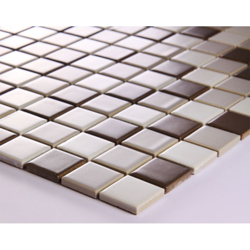 Backsplash Tile Sheets: Porcelain Mosaic Tile Sheets
