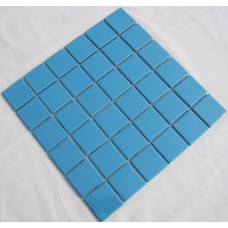 ceramic porcelain mosaic tile brick blue sky bathroom tile flooring glazed kitchen backsplash cheap TC48-002 swimming pool tile shower wall tiles