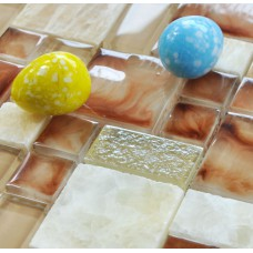 free shipping tiles crystal glass tiles stone mosaics kitchen backsplash cheap marble glass mosaic sheets GSSFT02 bathroom shower mirror wall designs