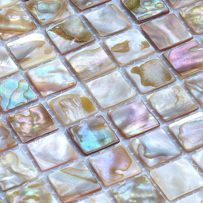 Mother Of Pearl Tile Backsplash Fresh Water Pearl Mosaic Tiling