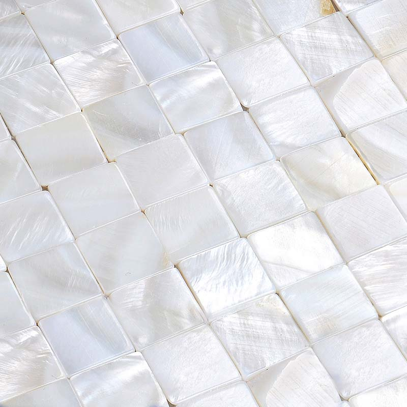 ... White mother of pearl tiles for kitchen and bathroom natural shell materials seamless seashell tiles backsplash ...
