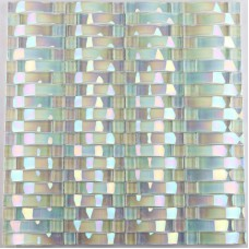 Iridescent glass mosaic tile sheets arch kitchen mosaic backsplash designs interlocking patterns wall tiles decor CGT89
