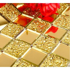 Crystal Glass Tiles Sheet Diamond Mosaic Wall Sticker Kitchen Backsplash Tile YF-MPJ99 Design Bathroom Shower Floor Mirror Decor